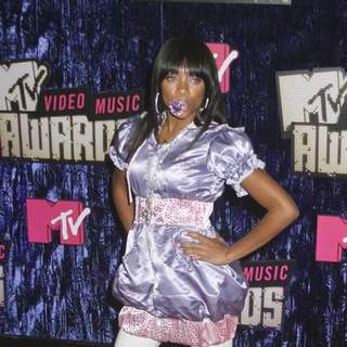 Lil Mama in 2007 MTV Video Music Awards - Red Carpet