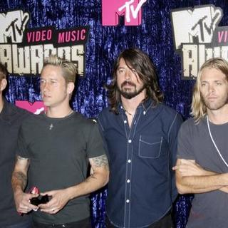 Foo Fighters in 2007 MTV Video Music Awards - Red Carpet