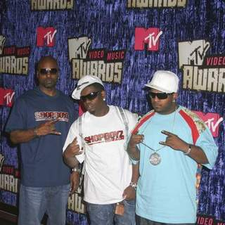 Shop Boyz in 2007 MTV Video Music Awards - Red Carpet - PRN-007251