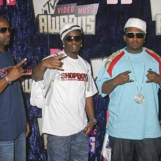 Shop Boyz in 2007 MTV Video Music Awards - Red Carpet - PRN-007252