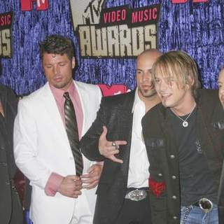 DAUGHTRY in 2007 MTV Video Music Awards - Red Carpet