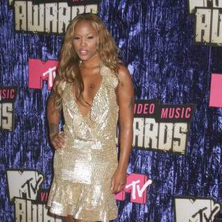 Eve in 2007 MTV Video Music Awards - Red Carpet - PRN-007499