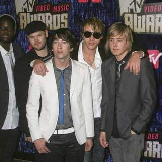 Plain White T's in 2007 MTV Video Music Awards - Red Carpet - PRN-007598