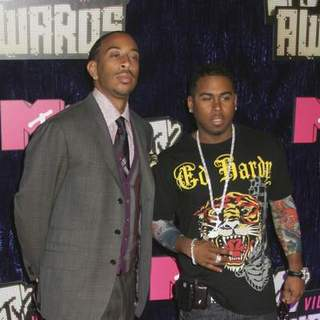 Ludacris, Bobby V in 2007 MTV Video Music Awards - Red Carpet