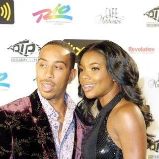 Gabrielle Union in Ludacris 30th Birthday Party at Cafe Martorano