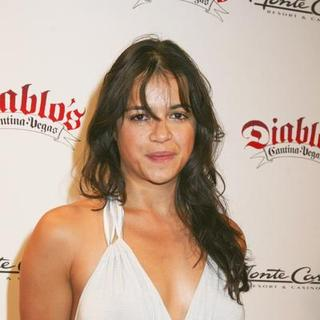 Michelle Rodriguez in Diablo's Cantina Grand Opening Celebration