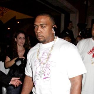 Timbaland in Gavin Maloof's Housewarming Party - October 25, 2007