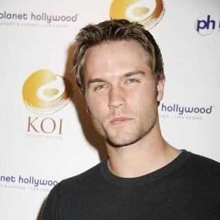 Scott Porter in KOI Las Vegas Opening at Planet Hollywood Resort and Casino