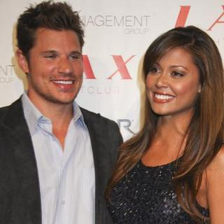 Nick Lachey in Nick Lachey and Vanessa Minnillo Birthday Celebration at Lax Nightclub in Las Vegas