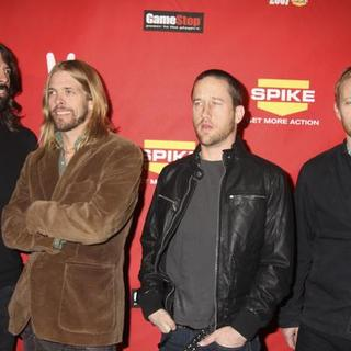 Foo Fighters in Spike TV 2007 Video Game Awards - Arrivals