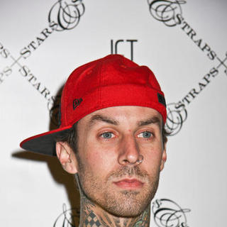 Travis Barker - Famous Stars and Straps Magic Party with Special Appearance by Three 6 Mafia at Jet Nightclub