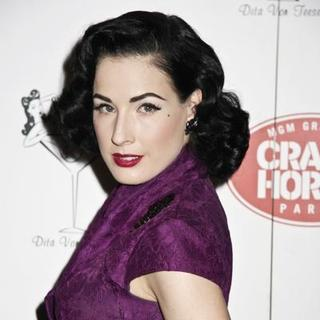 Dita Von Teese in Dita von Teese to Guest Judge First American Auditions at MGM Grand's Crazy Horse Paris in Las Vegas