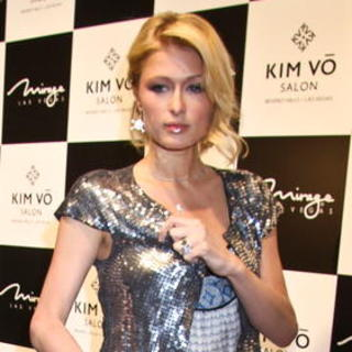 Paris Hilton - Kim Vo Salon and Spa Grand Opening at the Mirage Hotel and Casino in Las Vegas