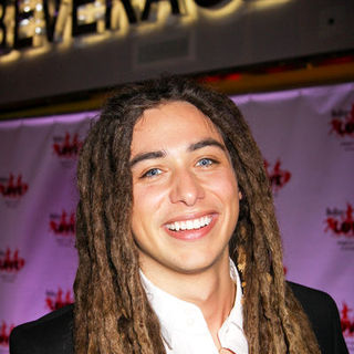 "Jason Castro in American Idol Final Four Contestants Attend The Beatles ""Love"" by Cirque Du Soleil at the Mirage"
