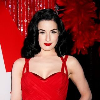 Dita Von Teese in PokerStars.com Burlesque Party Celebration of the World Series of Poker - Arrivals