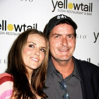 Charlie Sheen - Yellowtail Sushi Restaurant and Bar Grand Opening Celebration - Arrivals