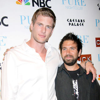 "Ryan McPartlin, Joshua Gomez in NBC's ""Chuck"" Season 2 Launch Party - Arrivals"