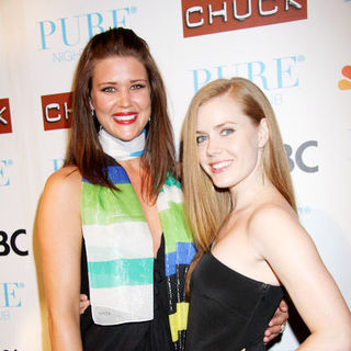 "Sarah Lancaster, Amy Adams in NBC's ""Chuck"" Season 2 Launch Party - Arrivals"