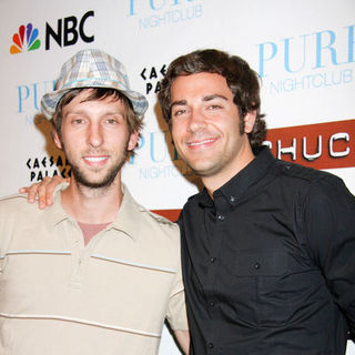 "Joel Moore, Zachary Levi in NBC's ""Chuck"" Season 2 Launch Party - Arrivals"