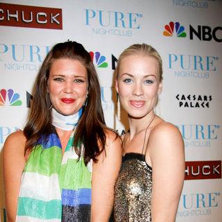 "Sarah Lancaster, Yvonne Strahovski in NBC's ""Chuck"" Season 2 Launch Party - Arrivals"