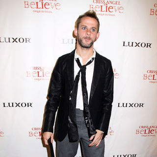 "Dominic Monaghan in ""Criss Angel Believe"" by Cirque du Soleil Opening Night - Black Carpet Arrivals"