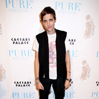 "Samantha Ronson in Lindsay Lohan Celebrates Her ""6126 by Lindsay Lohan"" Holiday Collection Fashion at Pure Nightclub La"