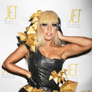 Lady GaGa - Lady Gaga Makes Special Appearance at JET Nightclub at the Mirage