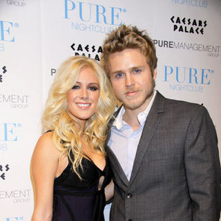 Heidi Montag, Spencer Pratt in New Year's Eve Celebration Hosted by Ashlee Simpson-Wentz and Pete Wentz at Pure Nightclub Las Vegas