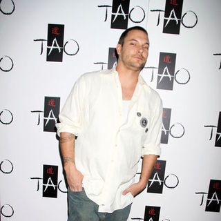 "Kevin Federline in Kat Von D Celebrates the Launch of Her New Book ""High Voltage Tattoo"" at Tao Nighclub Las Vegas - PRN-033649"