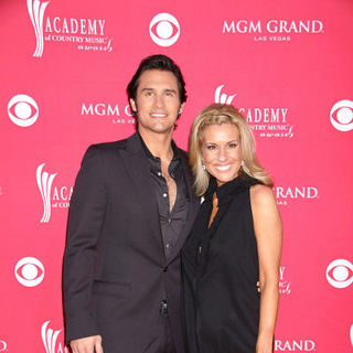 Joe Nichols, Heather Nichols in 44th Annual Academy Of Country Music Awards - Arrivals