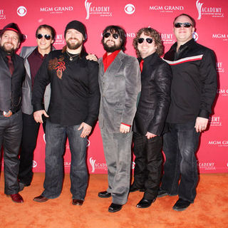 Zac Brown Band in 44th Annual Academy Of Country Music Awards - Arrivals