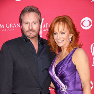Reba McEntire, Narvel Blackstock in 44th Annual Academy Of Country Music Awards - Arrivals