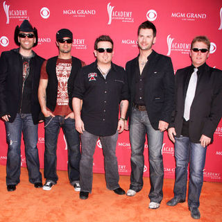 Emerson Drive in 44th Annual Academy Of Country Music Awards - Arrivals