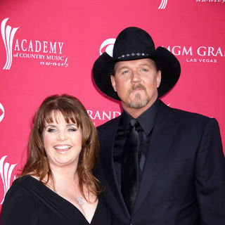 Trace Adkins, Rhonda Forlaw in 44th Annual Academy Of Country Music Awards - Arrivals