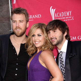 Lady Antebellum in 44th Annual Academy Of Country Music Awards - Arrivals