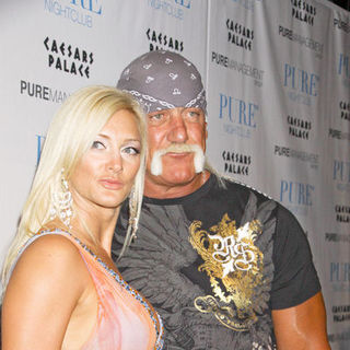 Hulk Hogan, Jennifer McDaniel in Brooke Hogan 21st Birthday Party at PURE Nightclub in Las Vegas on May 5, 2009