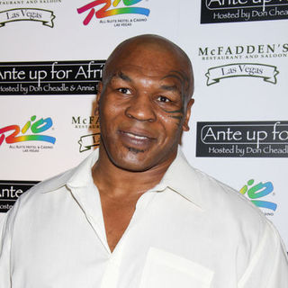 Mike Tyson in Ante up for Africa 2009 World Series of Poker - Arrivals