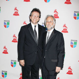 Gabriel Abaroa, Neil Portnow in The 10th Annual Latin GRAMMY Awards - Arrivals