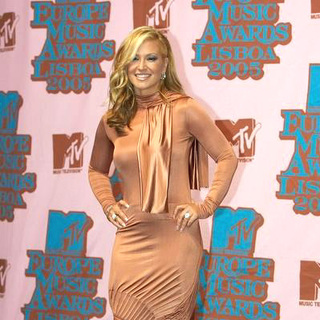 Anastacia in 2005 MTV European Music Awards Lisbon - Press Room