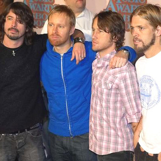 Foo Fighters in 2005 MTV European Music Awards Lisbon - Arrivals