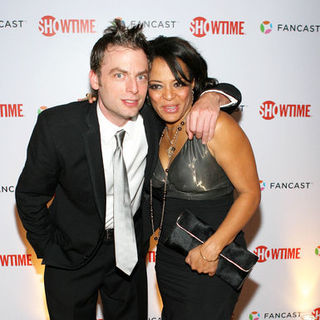 Lauren Velez, Justin Kirk in 66th Annual Golden Globes - Showtime After Party - Arrivals