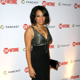 Lauren Velez in 66th Annual Golden Globes - Showtime After Party - Arrivals