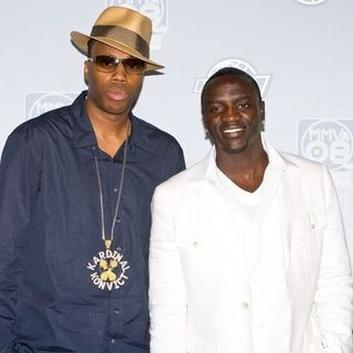 Kardinal Offishall, Akon in The 19th Annual MuchMusic Video Awards - Press Room