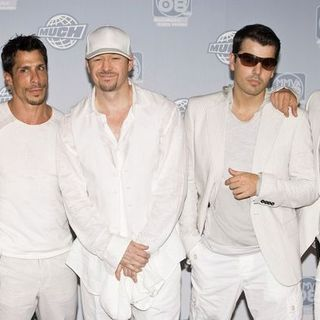 New Kids On The Block in The 19th Annual MuchMusic Video Awards - Press Room