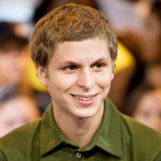 Michael Cera in Michael Cera and Kat Dennings Visit MuchOnDemand to Promote Their New Film