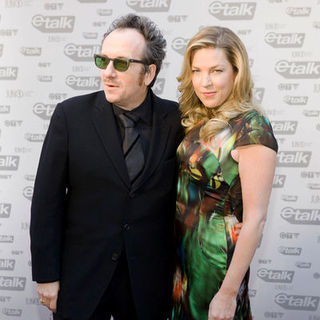 Elvis Costello, Diana Krall in The 2009 Juno Awards Red Carpet Arrivals