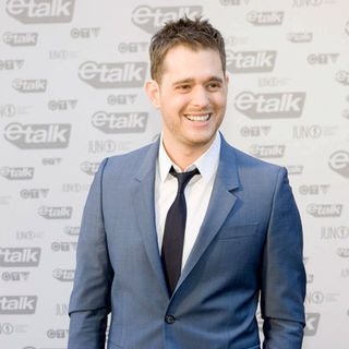 Michael Buble in The 2009 Juno Awards Red Carpet Arrivals