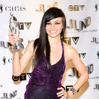 LIGHTS in 2009 Juno Awards - Press Room