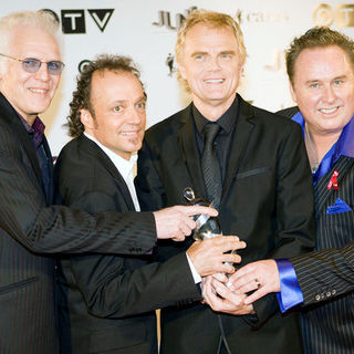 Loverboy in 2009 Juno Awards - Press Room