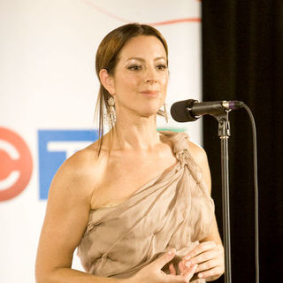 Sarah McLachlan in 2009 Juno Awards - Press Room
